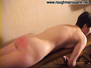 Female Russian slave was flogged by roughman