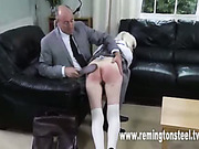 Sexy girl Tina got severe ass punishment