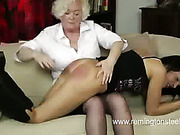 Flogging virgin got ass spanked well