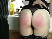 Party hostess got her bottom all spanked