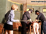 Brutal strokes from police domina in jail