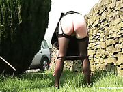 Sexy slut with cool ass got terrible caning