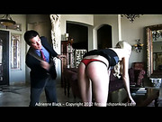 Hardcore caning punishment for white skin blonde