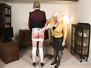 Bad schoolgirl endured harsh school punishment