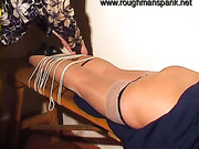Russian MILF screwed and spanked on casting
