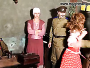 Sexy Russian maid was punished in tavern