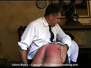 Sexy babe Valerie Bryant got 275-smack spanking