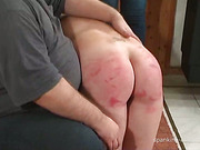Young whore with cool ass got domestic OTK set