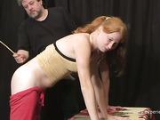Two bad young girls got great spanking