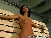 Young whore with perfect body deserved punishment