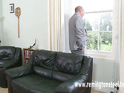 Unfaithful mature bitch was OTK spanked by hubby