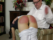 Old dude paddled a hot brunet bitch