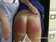 Brunet patient was spanked by two perverted doctors