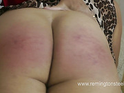 Blonde's fat butt smashed by old English pervert