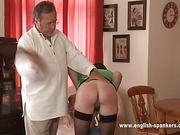 Slutty wife got whipping from her hubby