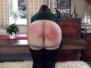 Fine round bottom of Pandora Blake punished hard