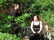 Huge bottom redhead bitch flogged outdoor