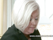Strict mom bent over and spanked her daughter