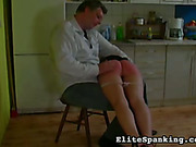 Wife cooked bad dinner and was spanked