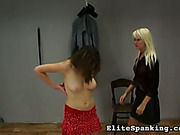 Lesbian perverts getting much pain at whipping post