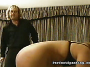Fat blond bitch got ass worked by spankmaster