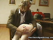 OTK spanking, caning and paddling for bitches