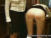 Mistress had to use paddle and cane to discipline