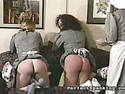 Two young nuns got asses paddled by Mother