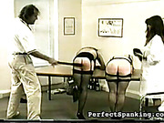 Asses suffered from whipping and caning in hospital