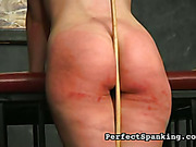 Slutty woman got ass bruised with different things