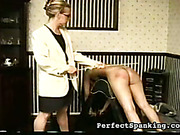 Big asses got caned and paddled by mistress