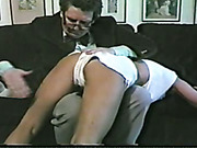 Young firm ass OTK spanked by mature punisher