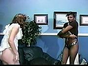 Spanking of black slavegirl by white mistress