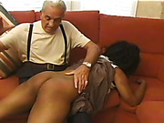 Black and white bitches suffered from hard spanking