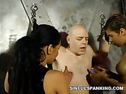 Dream of spanking for two abused ladies