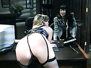 Abusing in the office for a female secretary