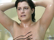 Wet rough whipping for fat mature bitch