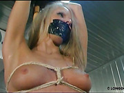 Sexy slut Nicole suffered from bondage and bullwhipping