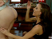 Dominatrix captured and punished young slavegirl