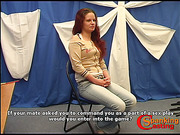 Perverted redhead bitch tried different spanking tools