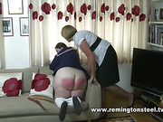 Female teacher whipped big ass of schoolgirl