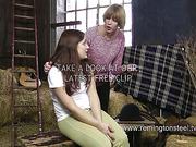 Mature lesbian perverts like whipping and OTK spanking