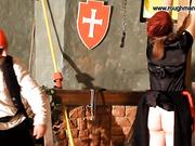 Pirate flogged a slut