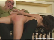 Charming cutie takes an enema and gets her lovely booty