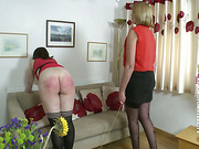 Terrible caning again