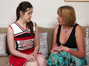 Cheerleader and Sarah