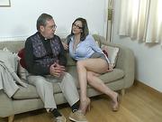 MILF wife gets otk slaps