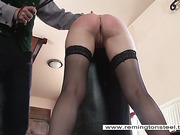 Submissive was spanked
