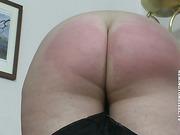 Curvy babe punished