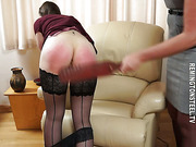 Young maid punished